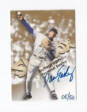 1999 SkyBox Premium Autographics Blue Ink #14 Damion Easley /50 Auto Parallel