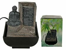 BUDDHA INDOOR WATER FOUNTAIN Feng Shui Waterfall Feature