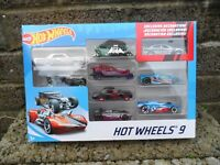 Hot Wheels Cars set of 9 - Brand new in box - Die cast cars