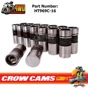 Crow Cams Hydraulic Lifters for Holden Red Blue Black V8 253 308 304 HT969C-16
