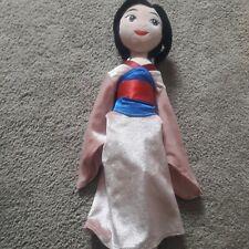 The disney store plush doll mulan