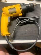 "DeWALT DW511 Variable Speed Reversible VSR Corded Hammer Drill 1/2"" Chuck 6.7A"