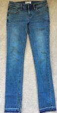 Free People Split Hem Jeans, Size 24.  Medium Wash