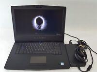 "Alienware 15 R3 Laptop 15.6"" i7-7820HK GTX 1070 512GB SSD 32GB RAM No OS"