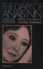 The Diary of Anais Nin, 1939-1944 Vol. 3 by Anaïs Nin (1971, Paperback)
