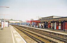 PHOTO  2000 STROOD RAILWAY STATION VIEW NE TOWARDS HIGHAM GRAVESEND DARTFORD AND