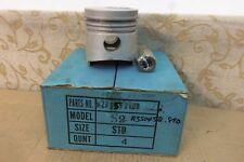4 NOS 89mm PISTON MAZDA S2 DIESEL ENGINE 2209cc LUCE E2200 B2200 STD 8259-23-200