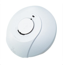 Smoke Alarm Detector 240v Mains Hard Wired w/ 9v Battery Backup Interconnectable