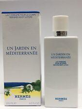 Hermes Un Jardin En Mediterranee Perfumed Body Lotion 200ml *NEW & SEALED*