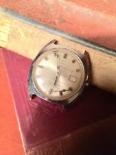 Rare Vintage Timex Automatic Date Mens Wrist Watch Parts Or Repair