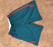 New Mexico Lobos Nike Team Issued Game Worn Used Shorts Turquoise  xl N7