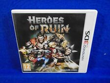 3DS HEROES OF RUIN Action RPG Game Role Playing Square Enix 3DS PAL UK
