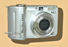 CANON A630 IS MECHANICALLY RECONDITIONED-SWIVEL LCD-GOOD FOR SELFIES-LARGE LCD