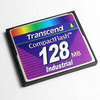Transcend 128MB CompactFlash CF Card Industrial Grade, CF Card 128MB