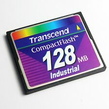 Transcend 128MB CompactFlash CF Card Industrial Grade, CF Card 128MB