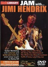 LICK LIBRARY Learn to Play JAM WITH JIMI HENDRIX Purple Haze Hey Joe GUITAR DVD
