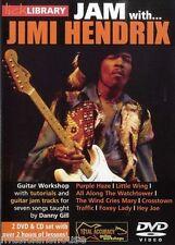 LICK LIBRARY Learn to Play JAM WITH JIMI HENDRIX Purple Haze Hey Joe GUITAR DVD