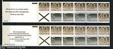Nederland Postzegelboekjes 23a, 23b mooie set (10) 80% van de postprijs