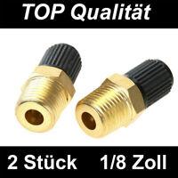 2x Felgenventile Ventil Felgen Ventile Reifen Metall Messing Für Dunlop-Ventil