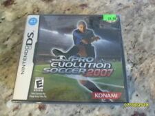 "Winning Eleven: Pro Evolution Soccer 2007 (Nintendo DS, 2007) - ""Y"" Fold"