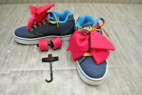 Heelys Propel JoJo HES10297H Skate Shoe, Little Girl's Size 1M, Denim NEW