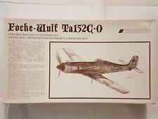 Trimaster MAZ 6800 Focke-Wulf Ta 152 C-0 1:48 Neu und eingetütet