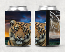 Tiger Personalised Stubby Holder Can Cooler