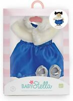 "NEW Manhattan Toy Baby Stella Party Dress Baby Doll Clothes for 15"" Dolls"