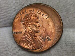 ERROR: BU 1999 Lincoln Penny Off-Center.  #39
