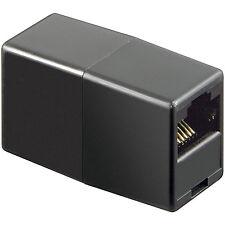 RJ 12 Adapter Verbinder 2 x Kupplung 6P6C 1:1 Buchse / Buchse 8018