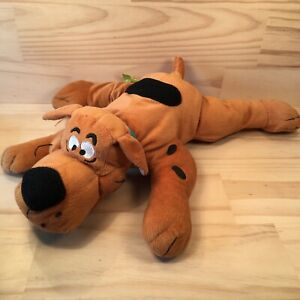 """SCOOBY-DOO """"Brown"""" Large Kids Cartoon Dog Character Soft Toy Stuffed Puppy"""