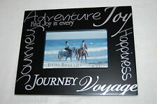 Frame BLACK WHITE Find Joy In Every JOURNEY ADVENTURE HAPPINESS 10x8 For 6x4 pic
