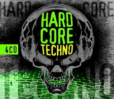 CD Hardcore Techno Von Various Artists 4cds