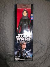 Star Wars Rogue One 12 inch Figure Sergeant Jyn Erso (Jedha) Figure B7377 NIB!