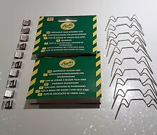 Mixed pack of Halls / AGL Greenhouse Glazing 10 off Z & 10 off W Clips