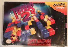 Tetris 2 (Super Nintendo Entertainment System, SNES 94) Complete