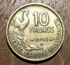 PIECE DE 10 FRANCS GUIRAUD 1951 B (48)
