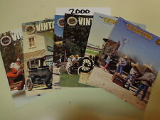 Vintage Ford Magazine 2000 (6 Issues) Model T Ford Club of America
