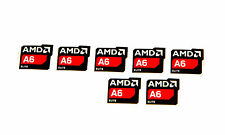 AMD elite a6 sticker 7x trozo PCs pegatinas CPU portátil Label logotipo nuevo New