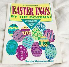 Easter Eggs by the Dozens! Project Art Book, Rhonda Massingham Hart, 1993
