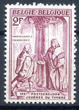 STAMP / TIMBRE DE BELGIQUE N° 1011 ** JOURNEE DU TIMBRE 1957