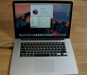 "Apple MacBook Pro 15"" Retina i7 2.6Ghz 8GB Mid 2012 Model/Spares/Repairs/Ref600A"
