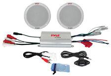 New PLMRKT2A 2 Channel Waterproof MP3/iPod Amplified 6.5'' Marine Speaker System