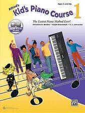 Alfred's Kid's Piano Course, Bk 1: The Easiest Piano Method Ever!, Book &...