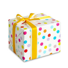 10 sheets Baby shower, Kids birthday, Jewelry Gift wrapping paper : Kids Dots