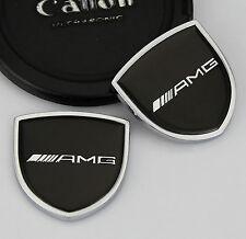 2pcs Top 3D AMG Metall Auto Car Body Embleme Fenders Aufkleber Schild LOGO für