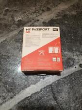 WD Portable SSD 2TB USB3.0 Blue My Passport Go External