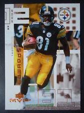 NFL 185 Troy Edwards Pittsburgh Steelers Upper Deck MVP 2002