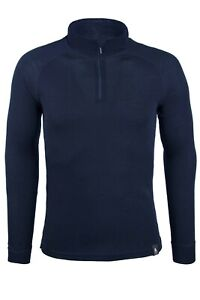 Mountain Warehouse Mens Merino Long Sleeved Top Antibacterial Sport Base Layer