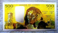Billets de 500 francs français pascaux 500 Francs